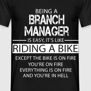 Branch Manager T-Shirts - Men's T-Shirt