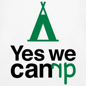 yes we camp Tops - Camiseta de tirantes premium mujer