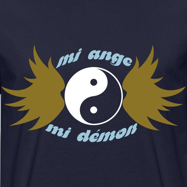 Tee shirt bio Homme Mi ange Mi démon