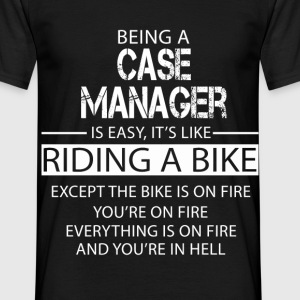 Case Manager T-Shirts - Men's T-Shirt