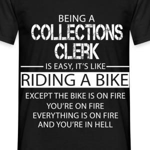 Collections Clerk T-Shirts - Men's T-Shirt
