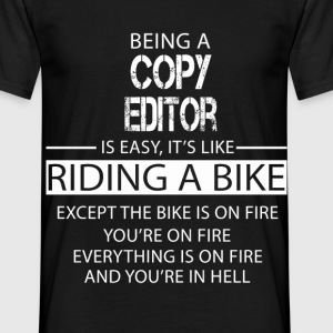 Copy Editor T-Shirts - Men's T-Shirt