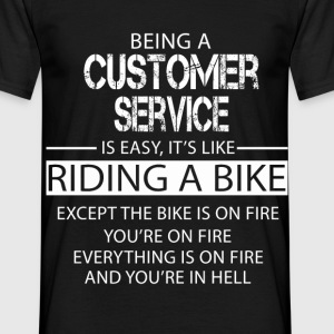 Customer Service T-Shirts - Men's T-Shirt