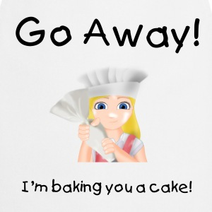 Little Baker Girl with icing  Aprons - Cooking Apron