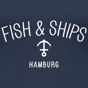Fish and Ships Hamburg T-Shirts - Women's Premium T-Shirt