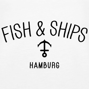 Fish and Ships Hamburg Tops - Frauen Premium Tank Top