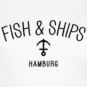 Fish and Ships Hamburg T-Shirts - Women's T-Shirt