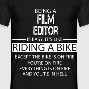 Film Editor T-Shirts - Men's T-Shirt