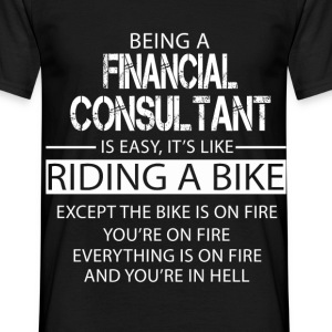 Financial Consultant T-Shirts - Men's T-Shirt