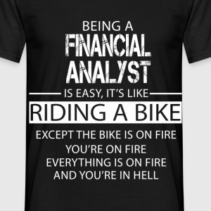 Financial Analyst T-Shirts - Men's T-Shirt