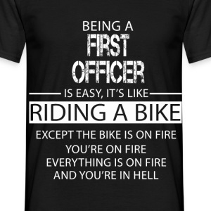 First Officer T-Shirts - Men's T-Shirt