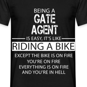 Gate Agent T-Shirts - Men's T-Shirt