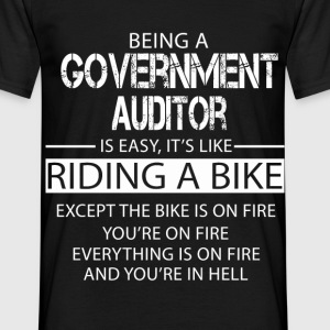 Government Auditor T-Shirts - Men's T-Shirt