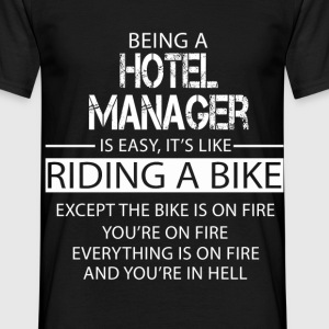 Hotel Manager T-Shirts - Men's T-Shirt