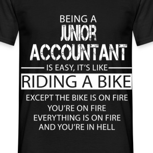 Junior Accountant T-Shirts - Men's T-Shirt