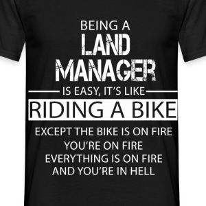 Land Manager T-Shirts - Men's T-Shirt