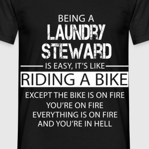 Laundry Steward T-Shirts - Men's T-Shirt