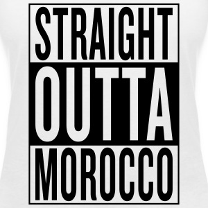 Morocco T-Shirts - Women's V-Neck T-Shirt
