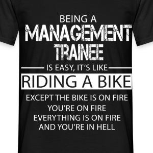 Management Trainee T-Shirts - Men's T-Shirt