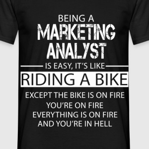 Marketing Analyst T-Shirts - Men's T-Shirt