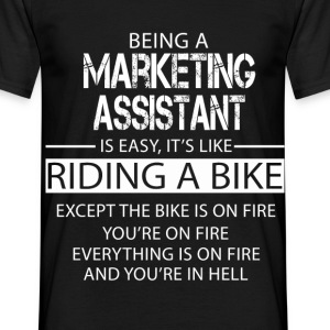 Marketing Assistant T-Shirts - Men's T-Shirt