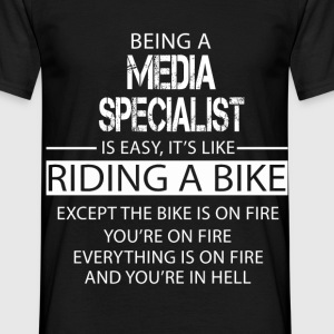 Media Specialist T-Shirts - Men's T-Shirt