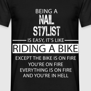 Nail Stylist T-Shirts - Men's T-Shirt