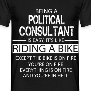 Political Consultant T-Shirts - Men's T-Shirt
