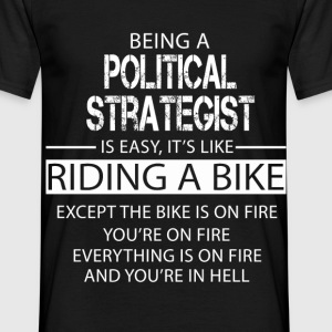 Political Strategist T-Shirts - Men's T-Shirt