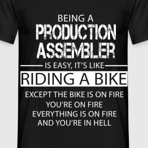 Production Assembler T-Shirts - Men's T-Shirt