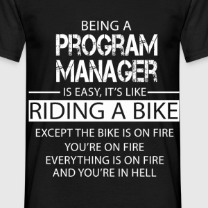 Program Manager T-Shirts - Men's T-Shirt