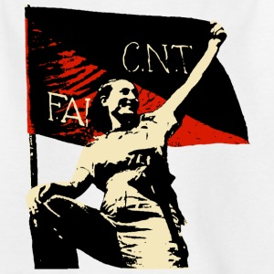 Anarchy Flag Woman - Teenager T-Shirt