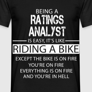 Ratings Analyst T-Shirts - Men's T-Shirt