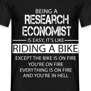 Research Economist T-Shirts - Men's T-Shirt