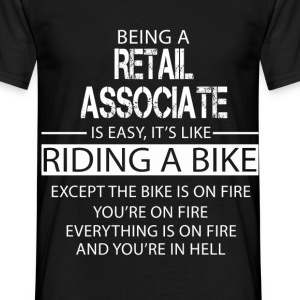 Retail Associate T-Shirts - Men's T-Shirt