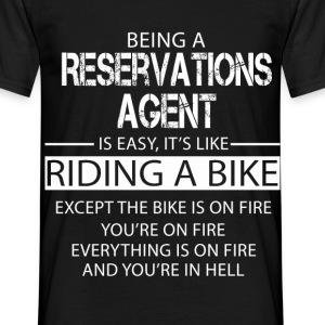 Reservations Agent T-Shirts - Men's T-Shirt