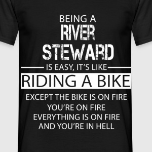 River Steward T-Shirts - Men's T-Shirt