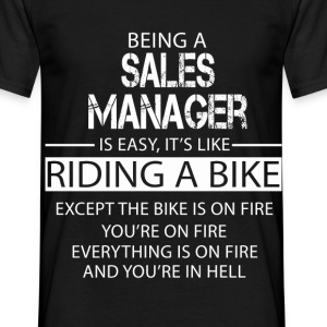 Sales Manager T-Shirts - Men's T-Shirt