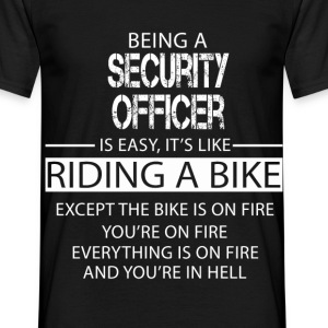 Security Officer T-Shirts - Men's T-Shirt