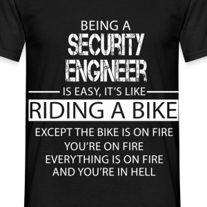 Security Engineer T-Shirts - Men's T-Shirt
