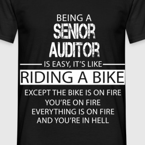 Senior Auditor T-Shirts - Men's T-Shirt