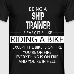 Ship Trainer T-Shirts - Men's T-Shirt