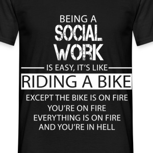 Social Work T-Shirts - Men's T-Shirt