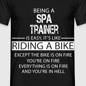 Spa Trainer T-Shirts - Men's T-Shirt