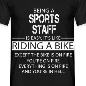 Sports Staff T-Shirts - Men's T-Shirt