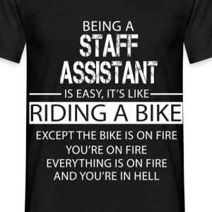 Staff Assistant T-Shirts - Men's T-Shirt