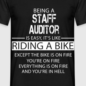 Staff Auditor T-Shirts - Men's T-Shirt