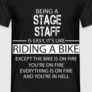 Stage Staff T-Shirts - Men's T-Shirt