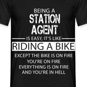 Station Agent T-Shirts - Men's T-Shirt