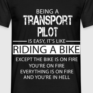 Transport Pilot T-Shirts - Men's T-Shirt